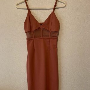 Forever 21 Bodycon Cut-out Dress
